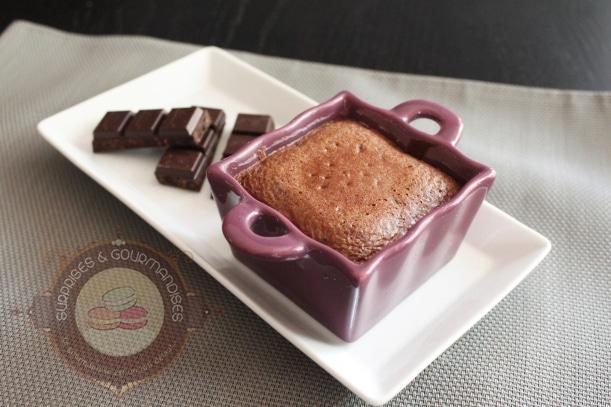 Cocotte de moelleux au chocolat au coeur coulant
