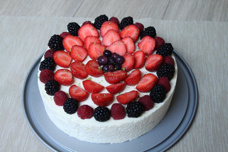 Entremets cheesecake inspiré de Sébastien Bouillet
