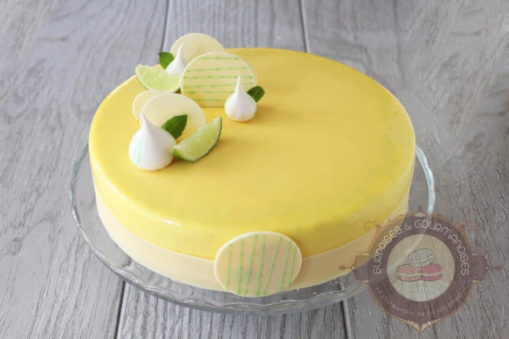 Entremets Citron Basilic Surprises Et Gourmandises