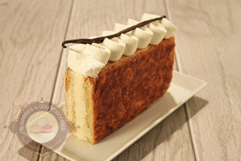 Millefeuille vanille tonka façon Christophe Michalak