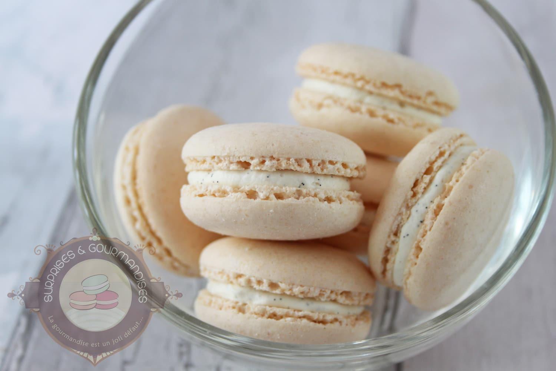 Macaron amande et vanille