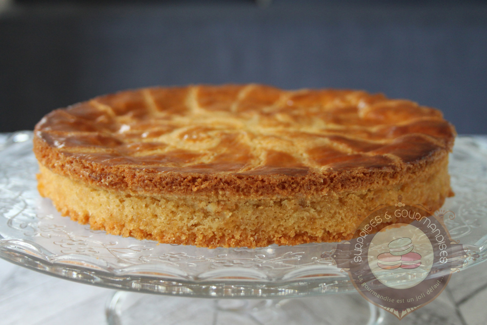 Gâteau basque aux Chantecler inspiré de Christophe Adam