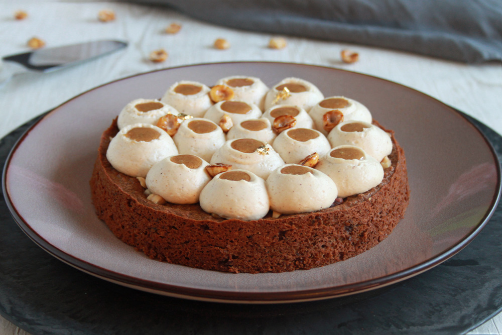 Gâteau «Infiniment noisette» de Pierre Hermé